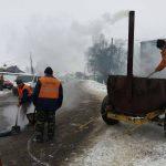 У Лановецькому районі латають дороги та упорядковують узбіччя
