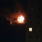 У Тернополі знову горять дачі (відео)