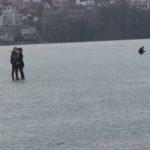 Тернопільські романтики випробовують долю і кригу (фото)