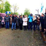 Жителі Тернопільщини радо зустрічали Михайла Саакашвілі (фото)