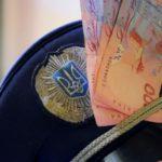 На Тернопільщині поліцейський  хотів 300 доларів, а отримав кримінальну справу