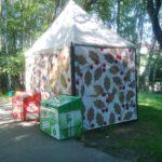 У Тернополі деякі МАФи почало зносити вітром (фото)