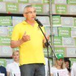 """Тернополяни під Парламентом протестували проти """"дикого"""" продажу землі"""