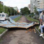 У Тернополі насправді дах зірвало не з церкви, а з магазину (фото)