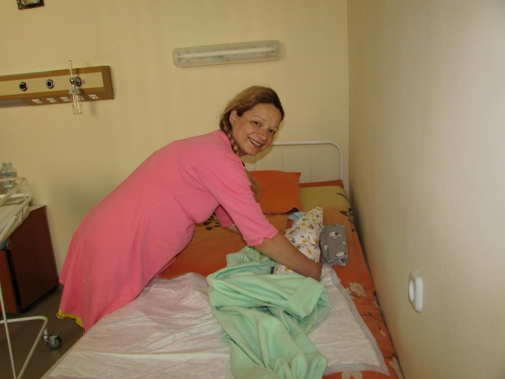 Оксана Джуган-Нечай. Народила другу дитину – хлопчика