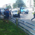 У Тернополі велосипедист потрапив у дуже легеньку аварію (фото)