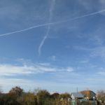 У небі над селом на Тернопільщині з'явився хрест (фото)