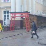 Для кого у Тернополі поставили ешафот? (фото)