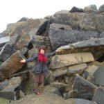 Подорожуючи, тернополянка побачила справжні скарби, рештки мамонта і пісок з Місяця