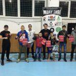 Тайських боксерів з Тернополя привітали у рідному спортклубі  (відео)
