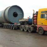 На Тернопільщині затримали водія з гігантським вантажем (фото)