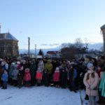 У Настасові на Водохреща колядою єднали Україну (фото)