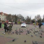На Театральному майдані у Тернополі сьогодні пропонують дуже специфічну розвагу (фото)