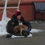 У Тернополі вже змушують жебракувати навіть тварин (фото)