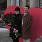 Тернопільську студентку дуже оригінально і несподівано запросили заміж (фото)