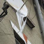 З дахів тернопільських будинків звисають бурульки рекордної довжини (фото)