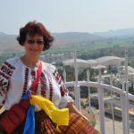 Тернополянка розповіла, як синьо-жовті кольори об'єднують українців навіть в Індії (фото)