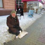 «За всю зиму ще не мився», – тернопільський безхатько розповів про життя на вулиці