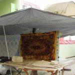 Ринок у райцентрі Тернопільщини прикрасили у стилі давніх кочових племен (фото)