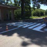 На дорогах Тернопільщини з'явилися нові «зебри» і «стріли»
