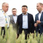 Володимир Гройсман взяв участь у відкритті Дня поля й саду