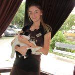 У Тернополі є кіт, який має персональне місце у піцерії (фото)