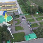 Найвищий прапор Західної України показали з висоти пташиного польоту (фото)