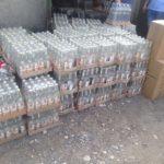 У гаражі під Тернополем підробили 22 тисячі літрів алкоголю