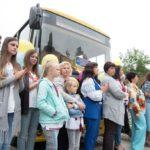 Шість нових шкільних автобусів передали навчальним закладам Тернопільщини (фото)