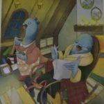 Тернопільська художниця показала ілюстрації до цікавої книжки у несподіваному форматі
