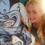 Тернопільська художниця в Іспанії працює з людьми, які постраждали від домашнього психологічного насильства