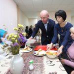 Сергій Надал розділив святковий обід з тернополянами, які перебувають у складних життєвих обставинах