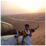 Тернополянка розповіла, чого шукала в пустелі, під якою заховані древні міста