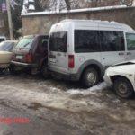 У райцентрі на Тернопільщині транспорт комунального господарства є причиною постійних нещасть (фото)