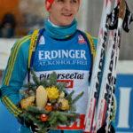 У Чехії тернопільський біатлоніст фінішував одразу за легендарним французом