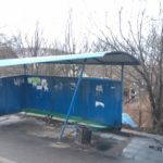На Тернопільщині тверезий водій зупинився трішки не у тому місці (фото)