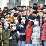 Тернопільська ОДА та облрада запустили флешмоб «Україна колядує» (фото)