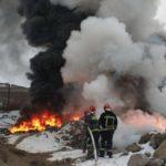 Останніми днями у Тернополі горять руїни