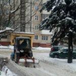 Через сніг у Тернополі оштрафували чотирьох чоловік