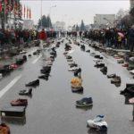 Взуття жителів Тернопільщини, які поїхали на заробітки, вистачило б, щоб створити ще одну Говерлу