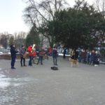 У Тернополі бездомний собака має абсолютний музичний слух (відео)