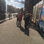 Газету з «чорнухою» на Анатолія Гриценка роздавали в центрі Тернополя