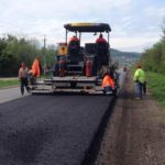 На Тернопільщині ремонтують міжнародну трасу (фото)