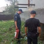 Жителі села на Тернопільщині голосували під час пожежі
