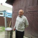 Житель Тернопільщини робить печі з пральних машин (відео)