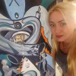Тернопільська художниця, роботами якої захоплюється Європа, повернулася до України