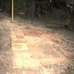 Креативність тернополян зашкалює. Хтось розстелив великий килим посеред двору (фото)