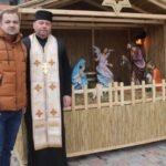 На території Варшавського Мікрорайону освятили Різдвяну шопку